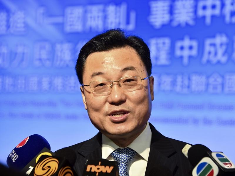 国务院宣布免去郑泽光外交部副部长职务