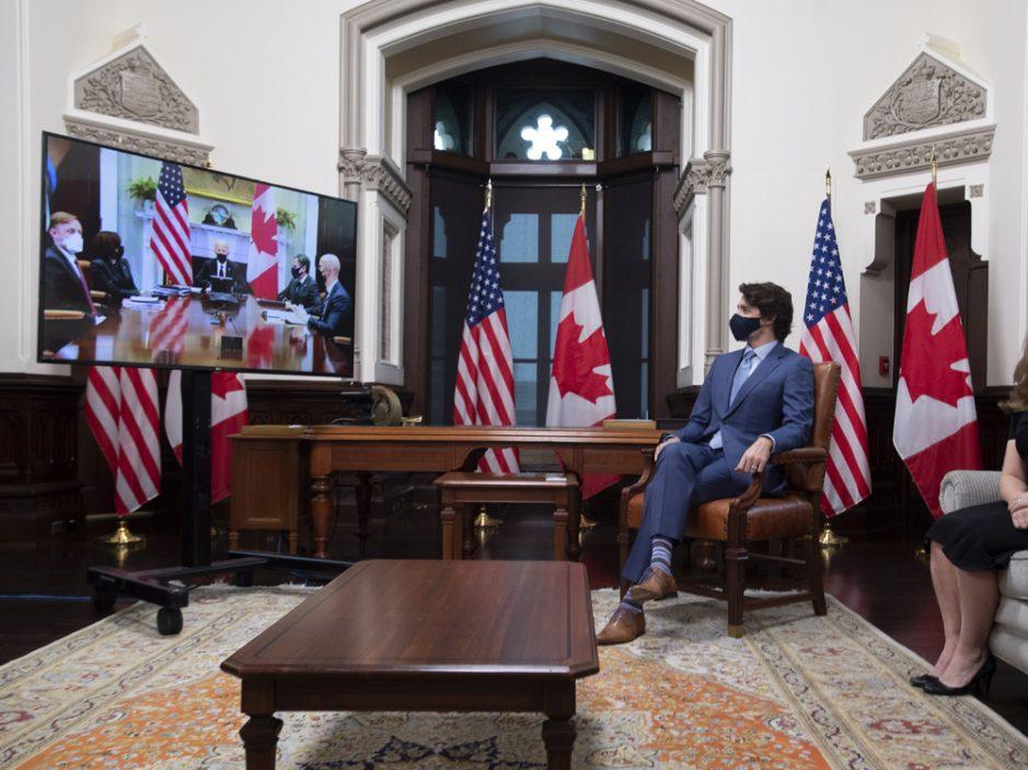 拜登与杜鲁多举行视像会议 谈及中方扣押加国公民