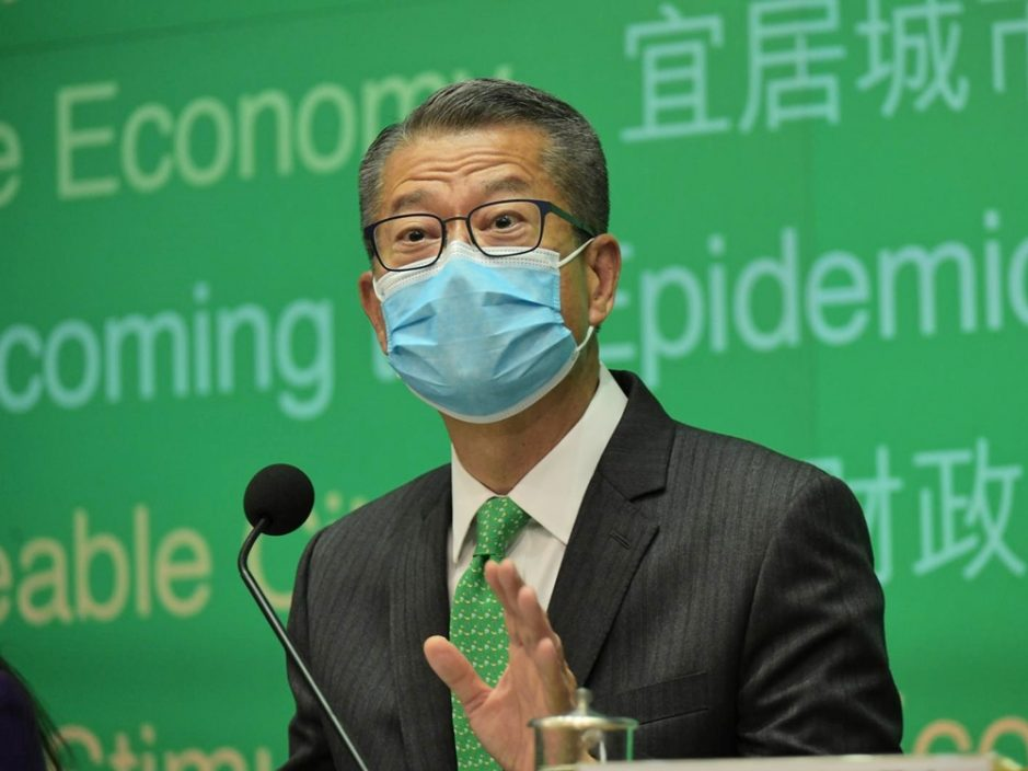 陈茂波避答是否爱党 称个人尊重及拥护宪法及《基本法》