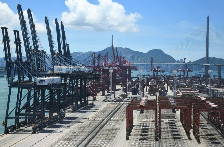 港1月出口货值按年大增44%