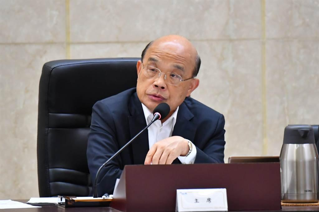 向华强父子申请居留被拒 苏贞昌:保护台湾安全