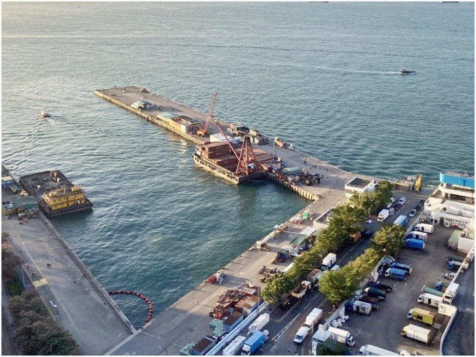 海事處封西區「港版天空之鏡」 公眾須持工作證進場