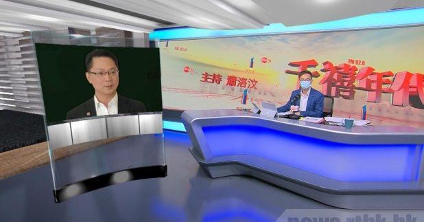 薛永恒表示,截至早上8時,超過3萬名市民預約。