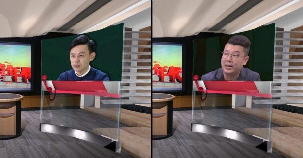 羅健熙(左)說,難以估計有多少人會被取消資格;劉國勳說,修例建議亦屬基本要求,看不到有不合理的地方。