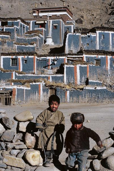 法国人拍85年西藏彩照
