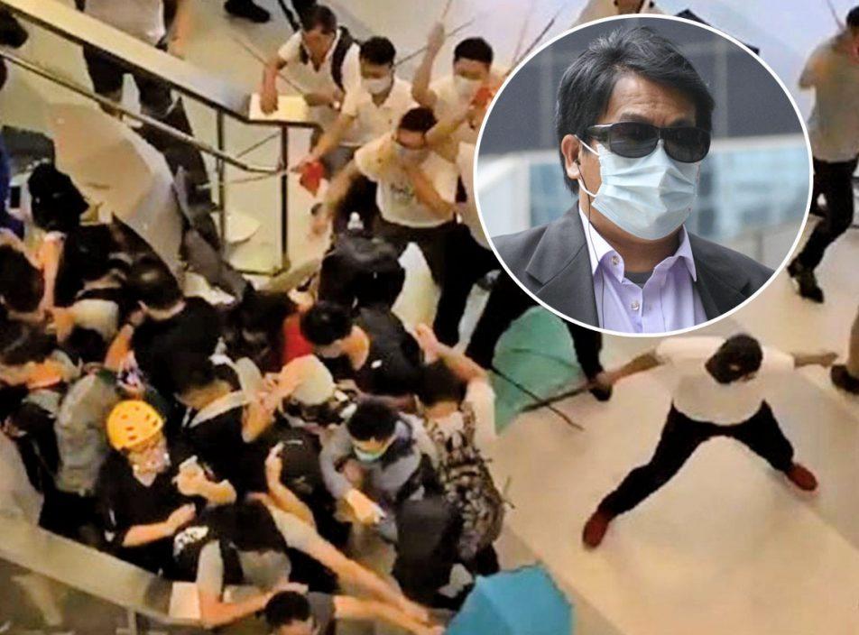 【721白衣人案】證人A稱保護女記者時遭藤條木棍打 左肩穿真皮上唇縫7針