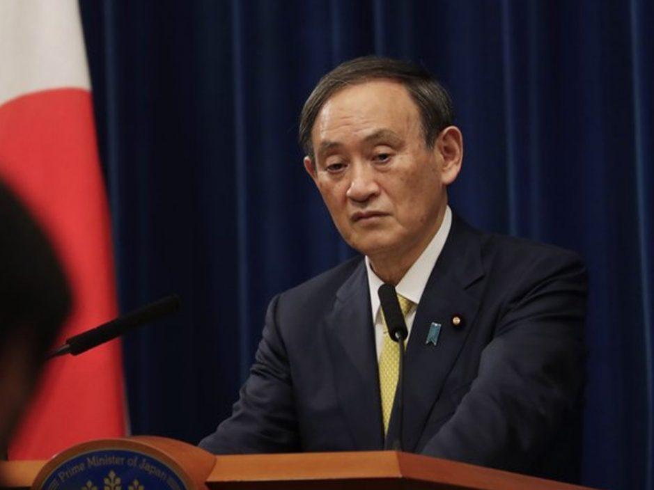 长子涉不当宴请致内阁官员辞职 菅义伟道歉