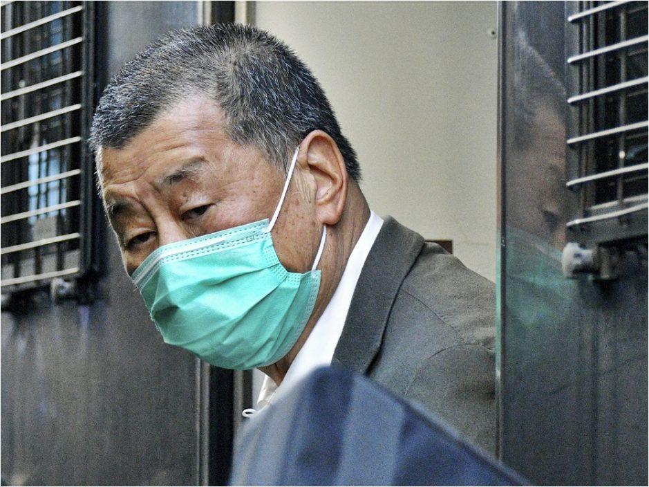 黎智英等涉串谋欺诈案 警国安处再拘61岁男