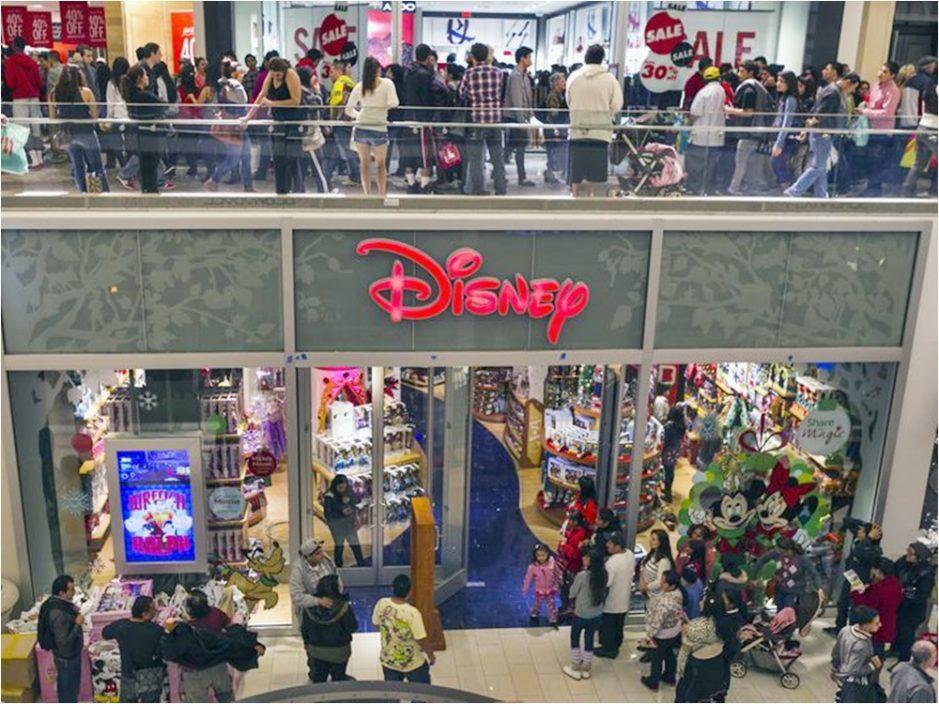 专注拓展网购业务 迪士尼宣布关闭北美60间门市