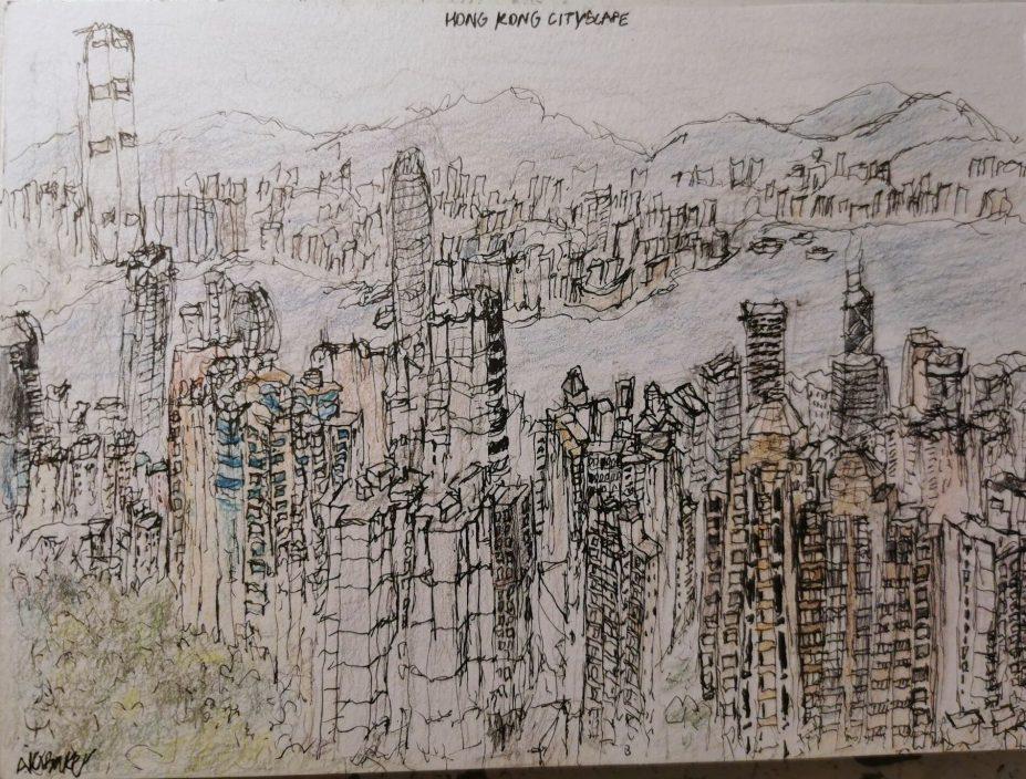英国11岁自闭症男童拥非凡天赋 凭记忆画出复杂城市建筑
