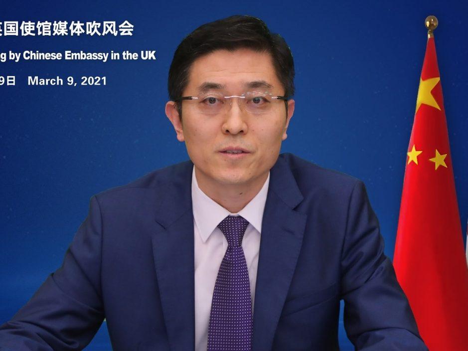 """驻英办:共产党不排斥民主 """"一国两制""""是确保香港民主实践"""