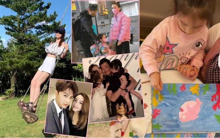 【白色情人节】邓丽欣晒蛇腰长腿秒杀  方媛握女儿手教画画传送温馨
