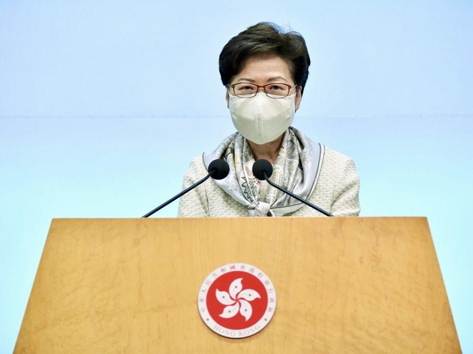需经本地立法完善选举制度 林郑:立法会选举9月5日举行有难度