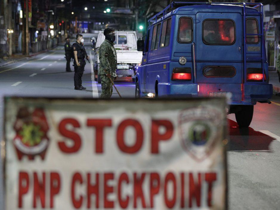菲律宾疫情反弹 首都马尼拉宵禁两周