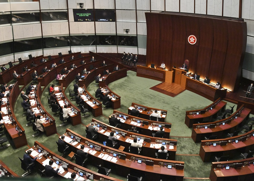 立法会通过2074亿元临时拨款 支付《预算案》通过前政府开支