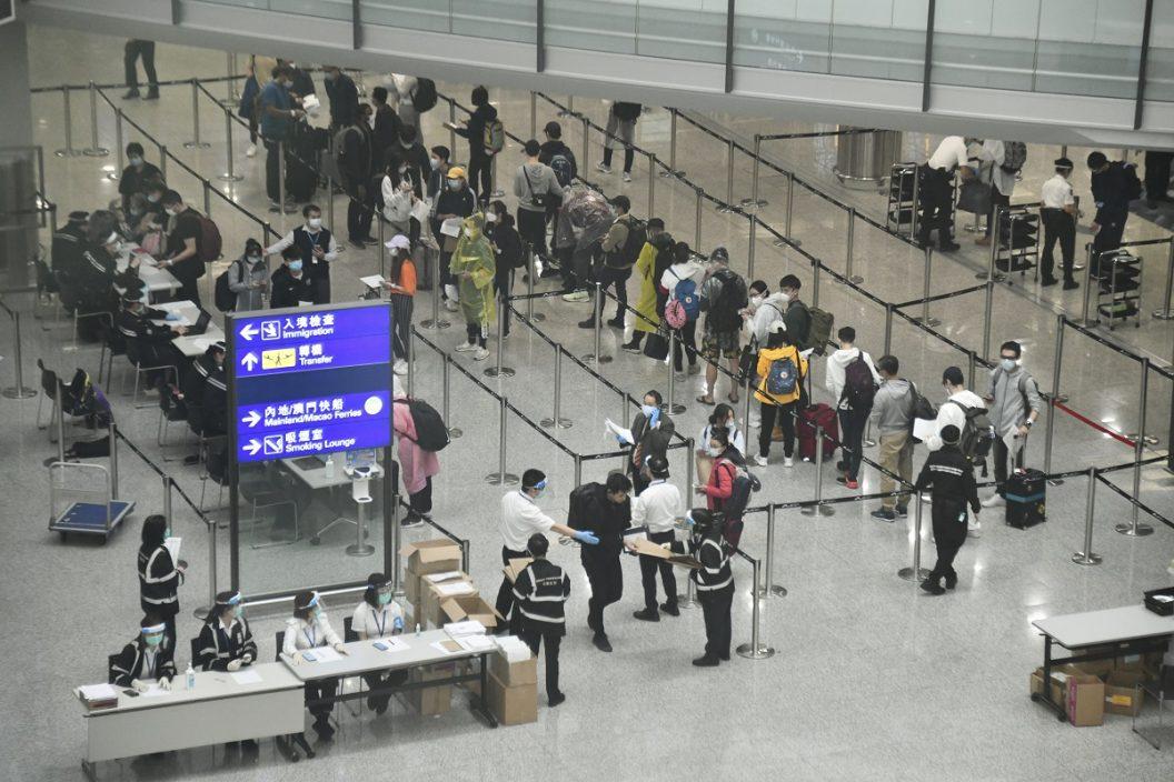 明起所有免检疫人士包括机员均须机场等检测阴性后离开
