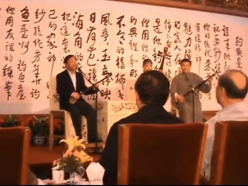 杨洁篪演唱苏州评弹网上爆红 获赞铁汉柔情