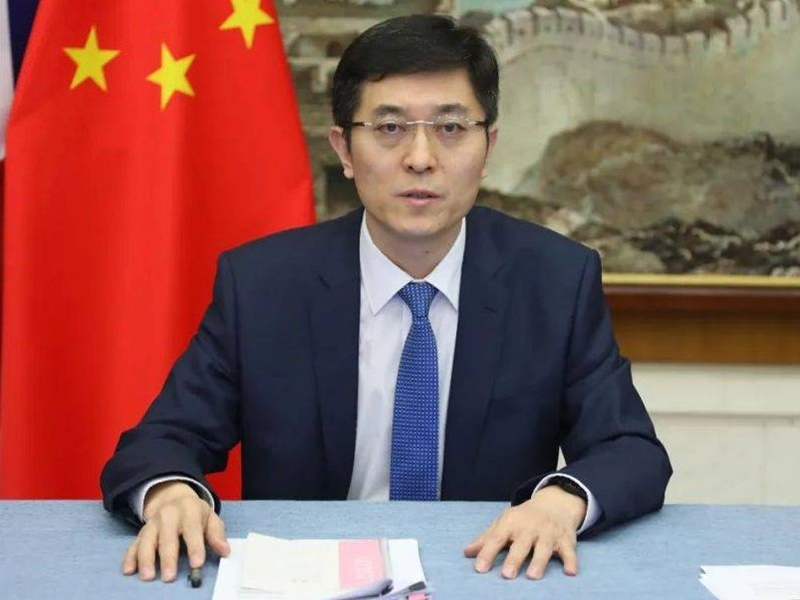 中国驻英使馆就英对华实施制裁 提出严正交涉