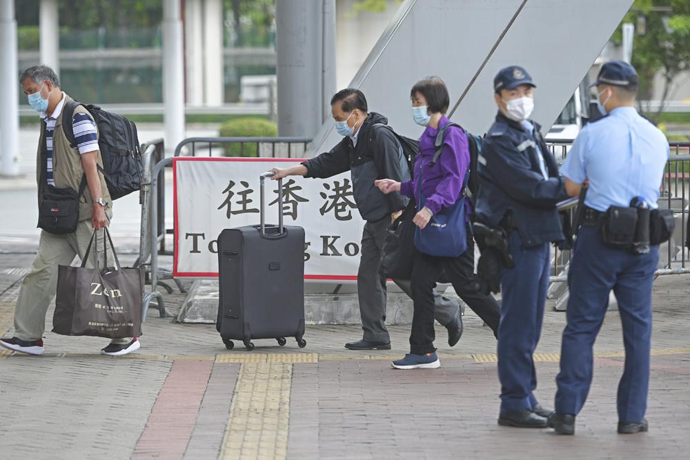 明起中国各地区抵港人士 需于抵港时或第二天及第12天接受检测