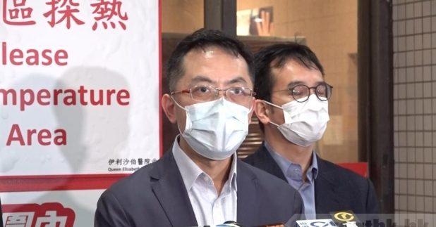 衞生防護中心總監林文健表示,當局非常關注事件,並向死者家屬致以深切慰問,並多次重申事件與接種疫苗的因果關係仍然未確立。(黃億文攝)