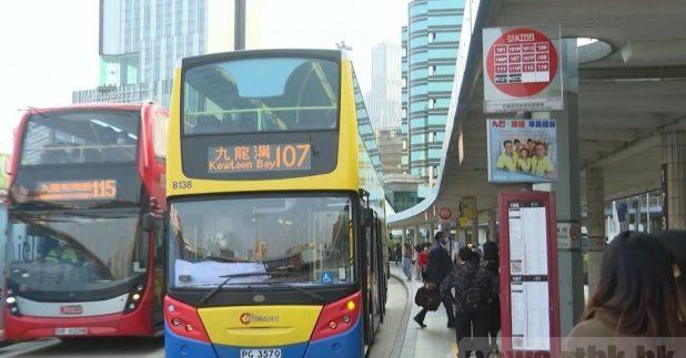 行政会议批准九巴、城巴及新巴、新大屿山巴士加价。(梁祯祥摄)