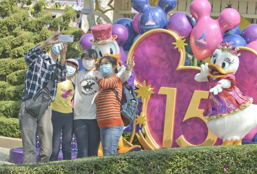 迪士尼乐园明日入园预约已满 不设即场购票