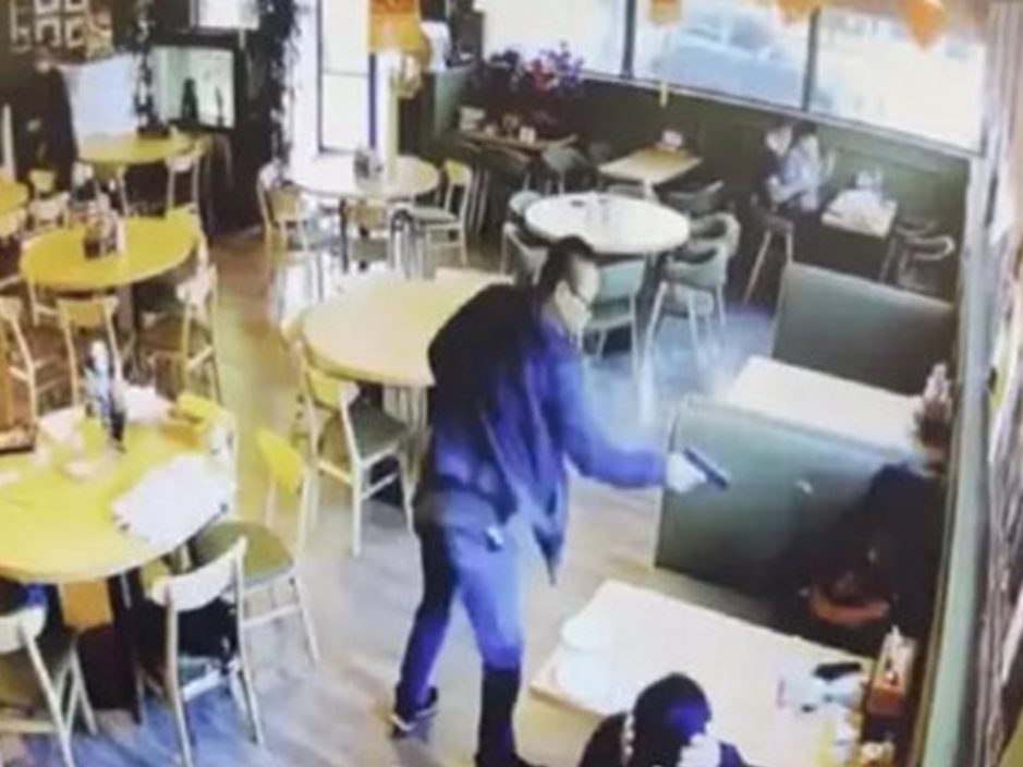 美国亚裔男女餐厅遭枪杀 枪手是女死者丈夫冷静行凶