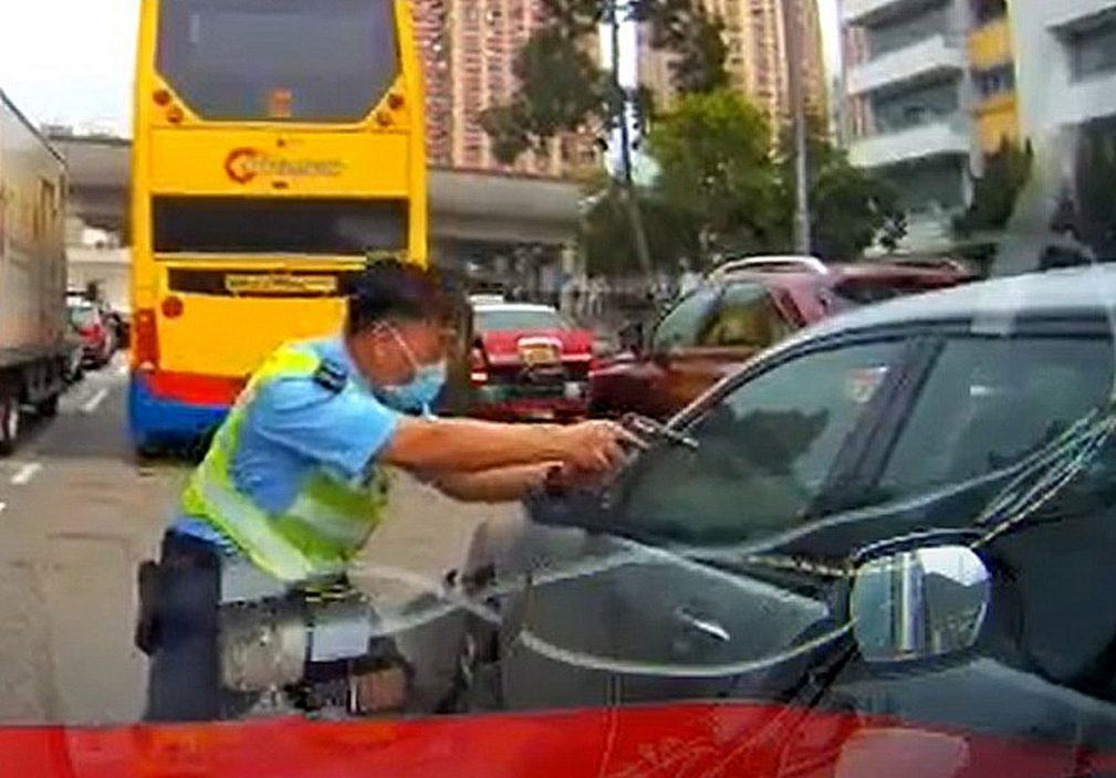 沙田中枪司机及女乘客同为爆窃集团成员 3同党被捕涉至少3案