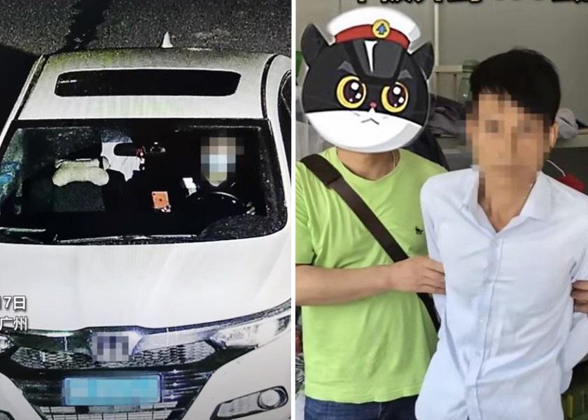 广州偷车贼聘代驾驶走赃车 供称刚考获车牌不敢远行