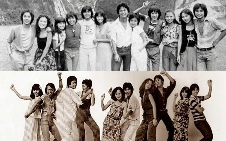 40几年前青春剧拍档聚首晒友情 谭咏麟祝曾志伟68岁生日快乐