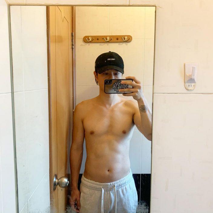 """【想走""""脂""""埋嚟】晒结实二头肌    陈健安断食加健身12日减14磅"""
