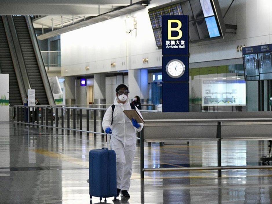 7天内有5名乘客带变种病毒株 该地区航班禁来港两周