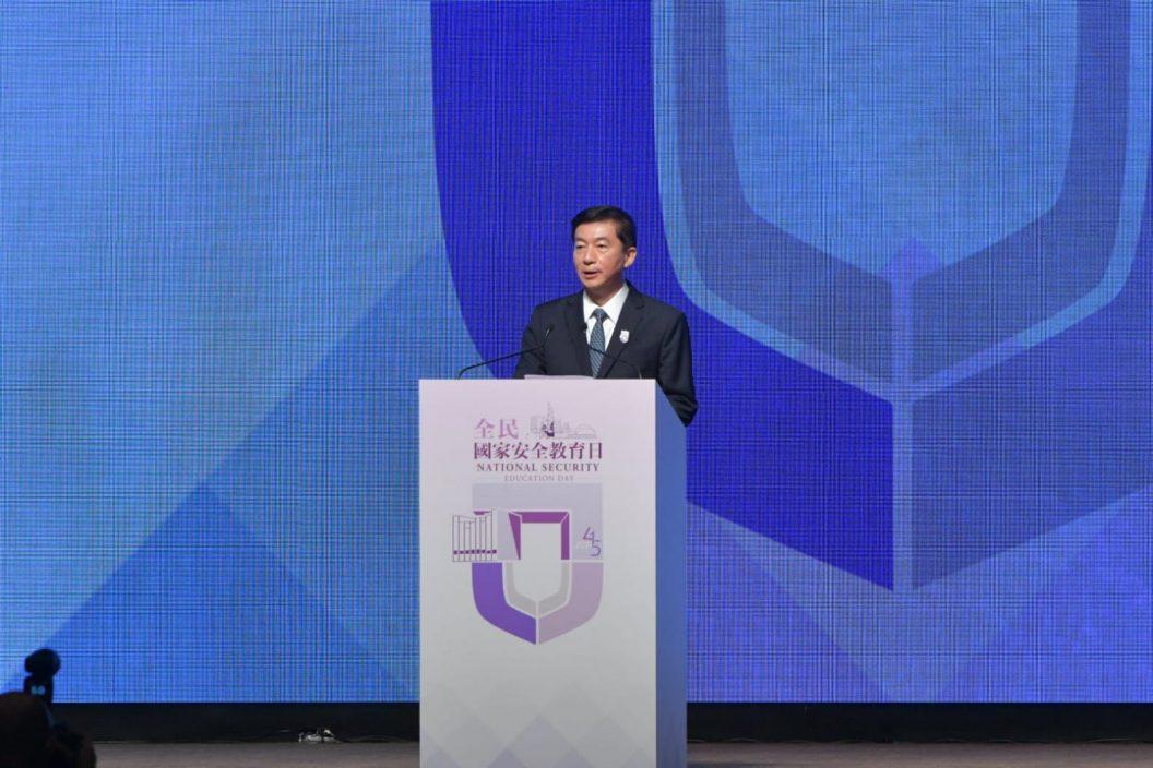 骆惠宁:中央对危害国安行为出手必到位 让外部势力留教训