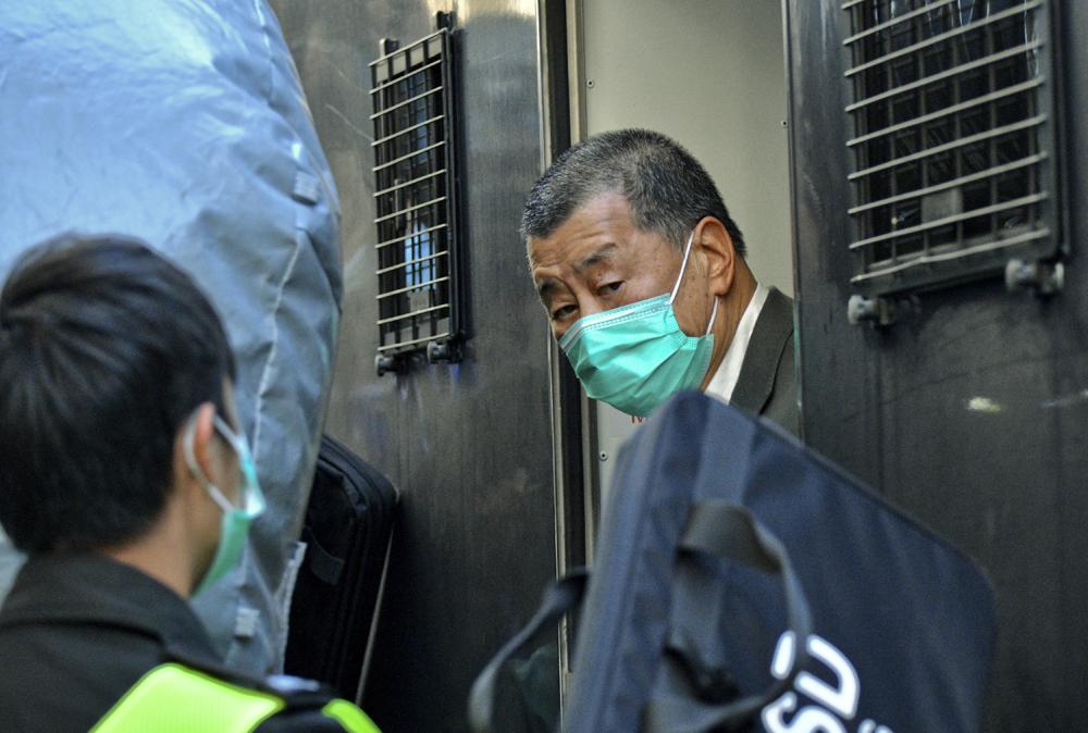黎智英涉违国安法6月再讯 拟加控串谋勾结外国势力危害国安等两罪