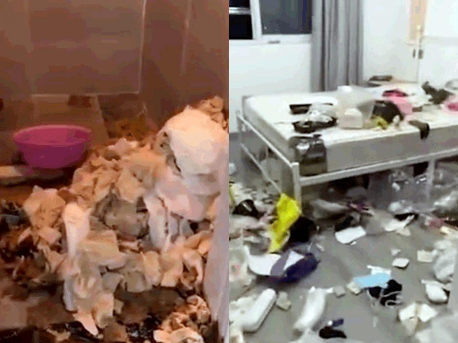 上海两女租客无交租后失联 屋内遗大量垃圾厕所厕纸堆积如山