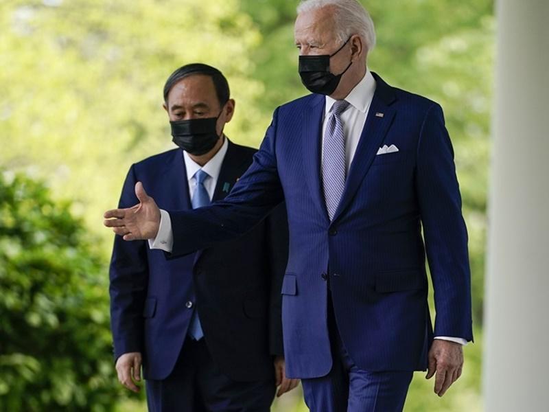 【美日会谈】拜登白宫晤菅义伟 同意合作应对中国挑战