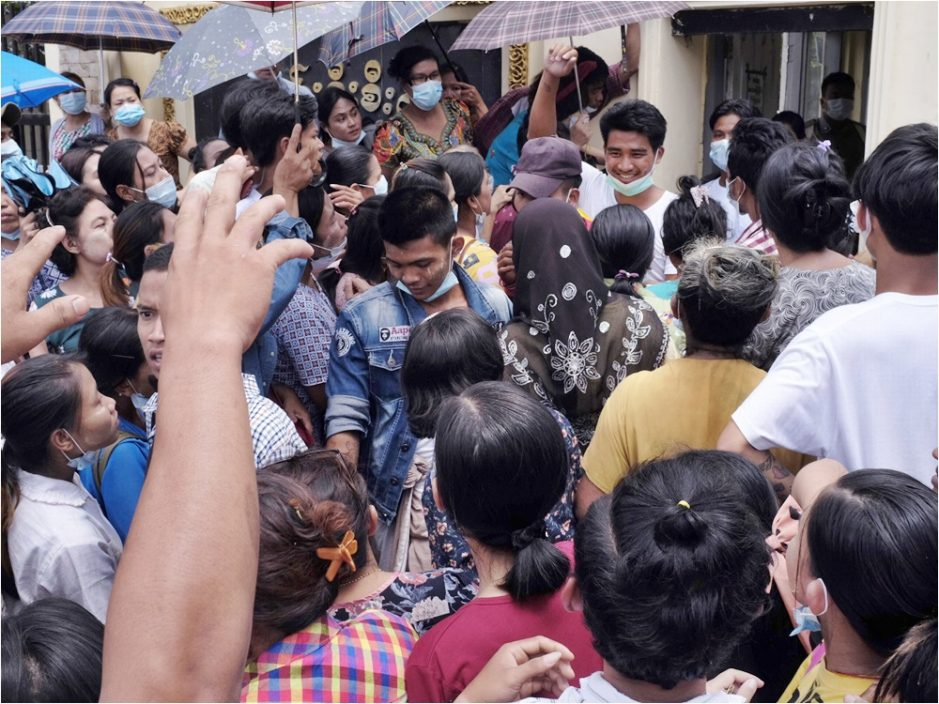 敏昂莱将出席东盟会议 缅甸军政府特赦逾2万名囚犯