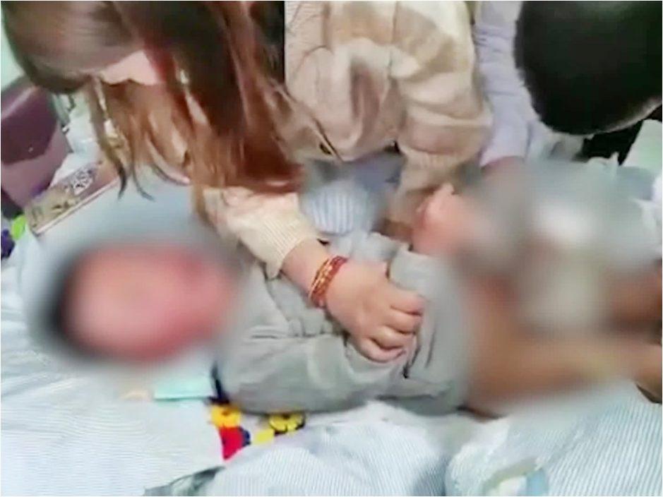 4岁男童哭诉遭老师剪断生殖器 幼稚园:溜滑梯时受伤
