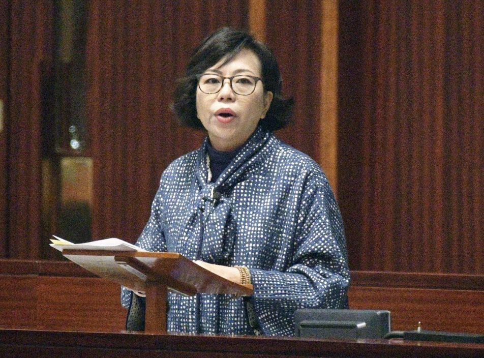 麦美娟:若不敢公开外国籍 应无资格参选选委会