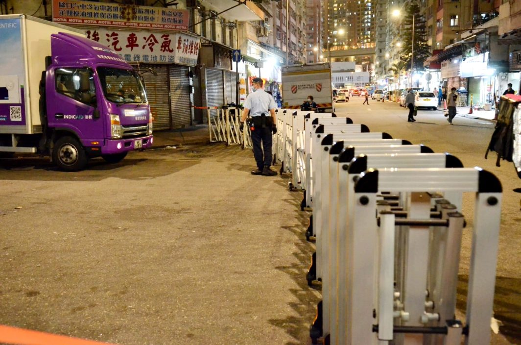 丽城花园二期第4座及荃湾芙蓉大厦封区强检 明早7时或7时半完成