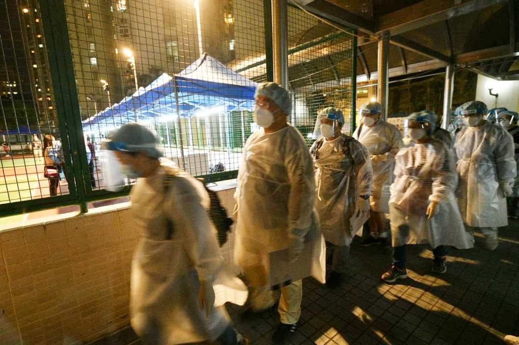 丽城二期第4座及荃湾芙蓉大厦封区强检 明早7时后完成