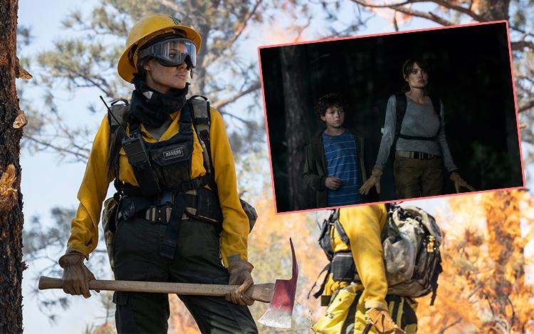 《灭我者》救细路阻杀手狙击 安祖莲娜祖莉演消防员被困火海森林