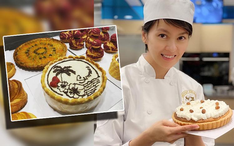 法国糕饼模拟考试       梁咏琪8个钟要整4款糕点压力超大