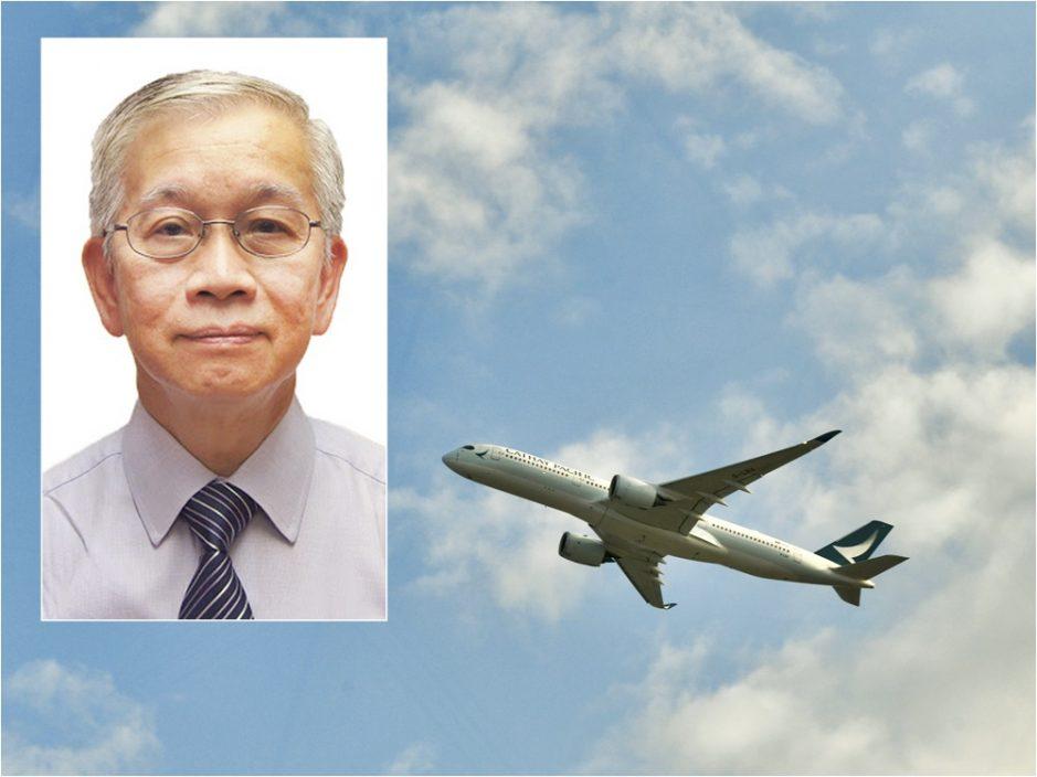 罗庆才移居英国上机前辞任浸联会会长 携爱犬上机称机会难得