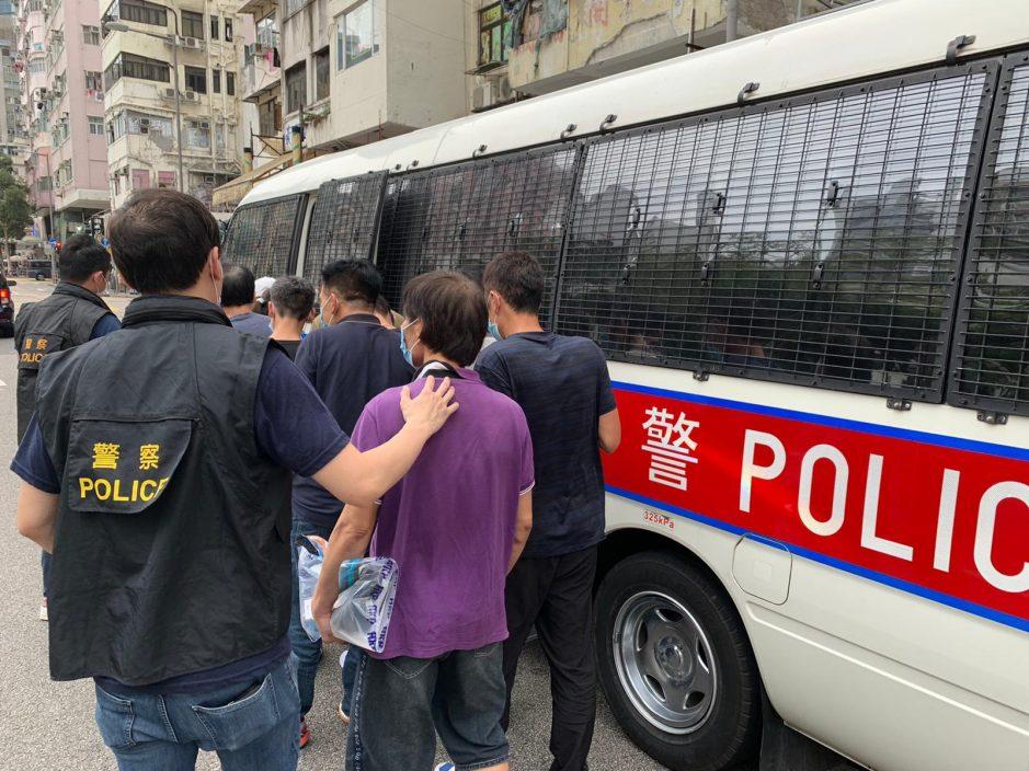 警旺角道捣毒窟 12男女被捕