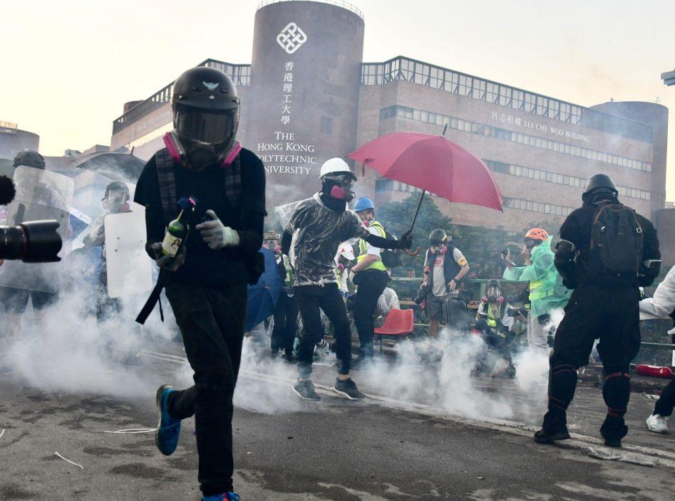 【理大冲突】赵柱帮:至少两涉事者被警方上门拘捕
