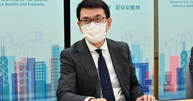 邱腾华强调选举制度得以完善,可有效解决近年香港社会泛政治化和内耗不断的困局。(政府新闻处图片)