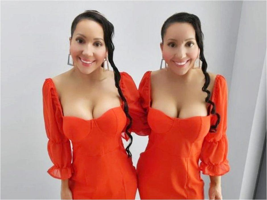 双胞胎姊妹花钱整容盼一模一样 共享男友9年冀同时怀孕