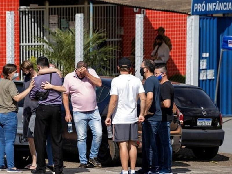 巴西南部青年闯托儿所 乱刀斩死3幼童及2职员