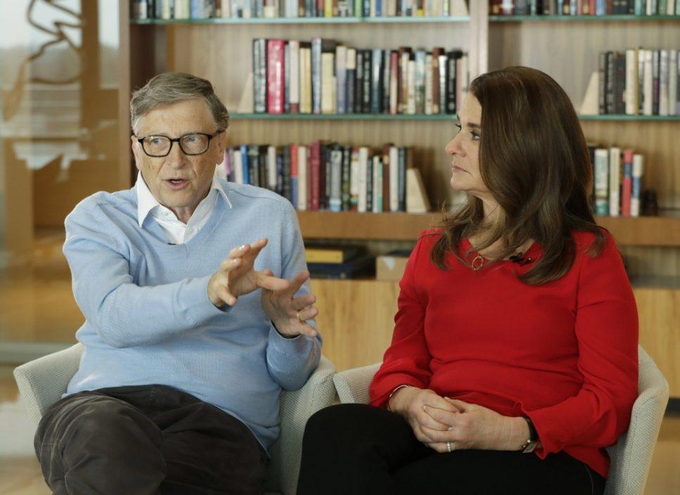 开始分身家 盖茨将18亿美元股票转给梅琳达